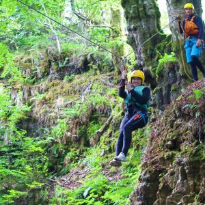 gorge scrambling in Ayrshire