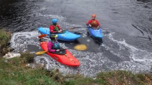 white water kayak leader training