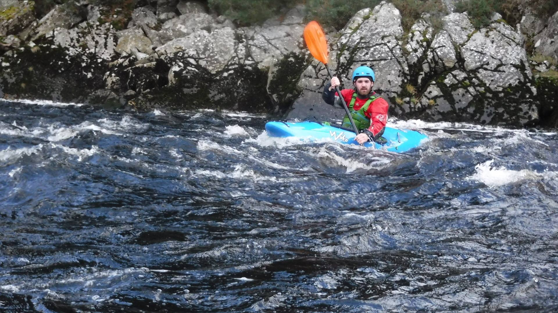 Day 1 Was On The River Spey