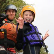 Active Outdoor Pursuits Gorge Jump Youth Group