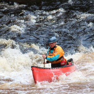 BCU Canoe Leader Training