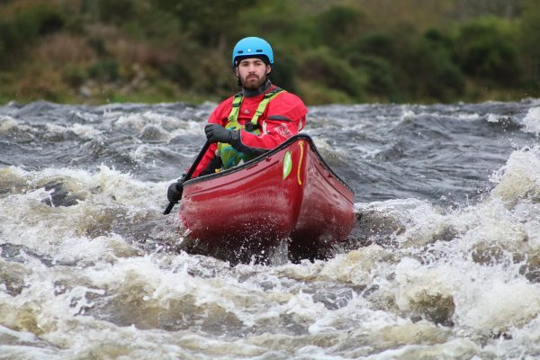 canoe river trip in the Great Glen