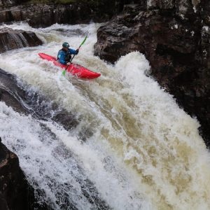 Advanced white water kayak leader training & assessment