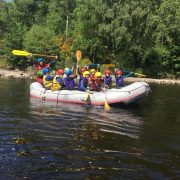 Active Outdoor Pursuits School Adventure Day White Water Rafting