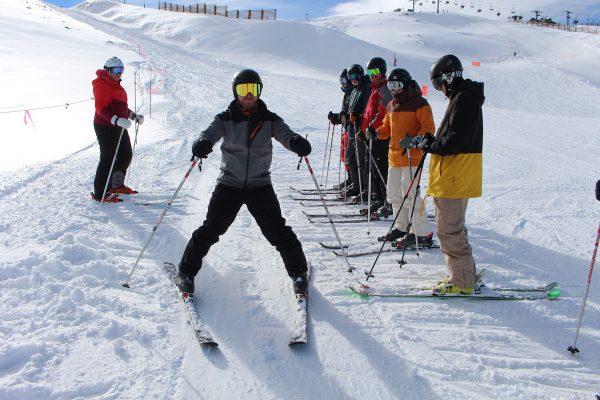 instructor training course ski wedge