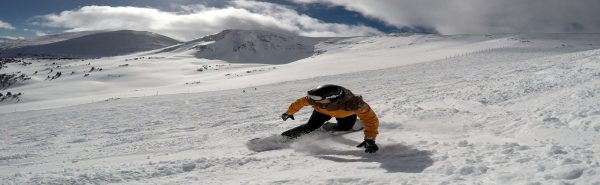 snowboarding in the great glen and fort william with snowboard lessons