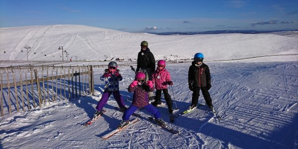 Snowsports in Aviemore kids