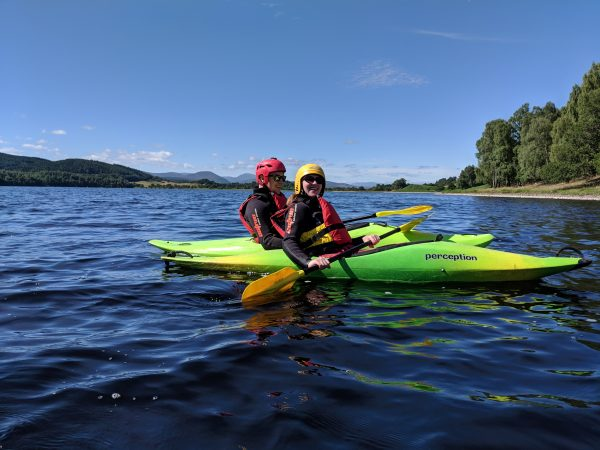 kayaking in the great glen