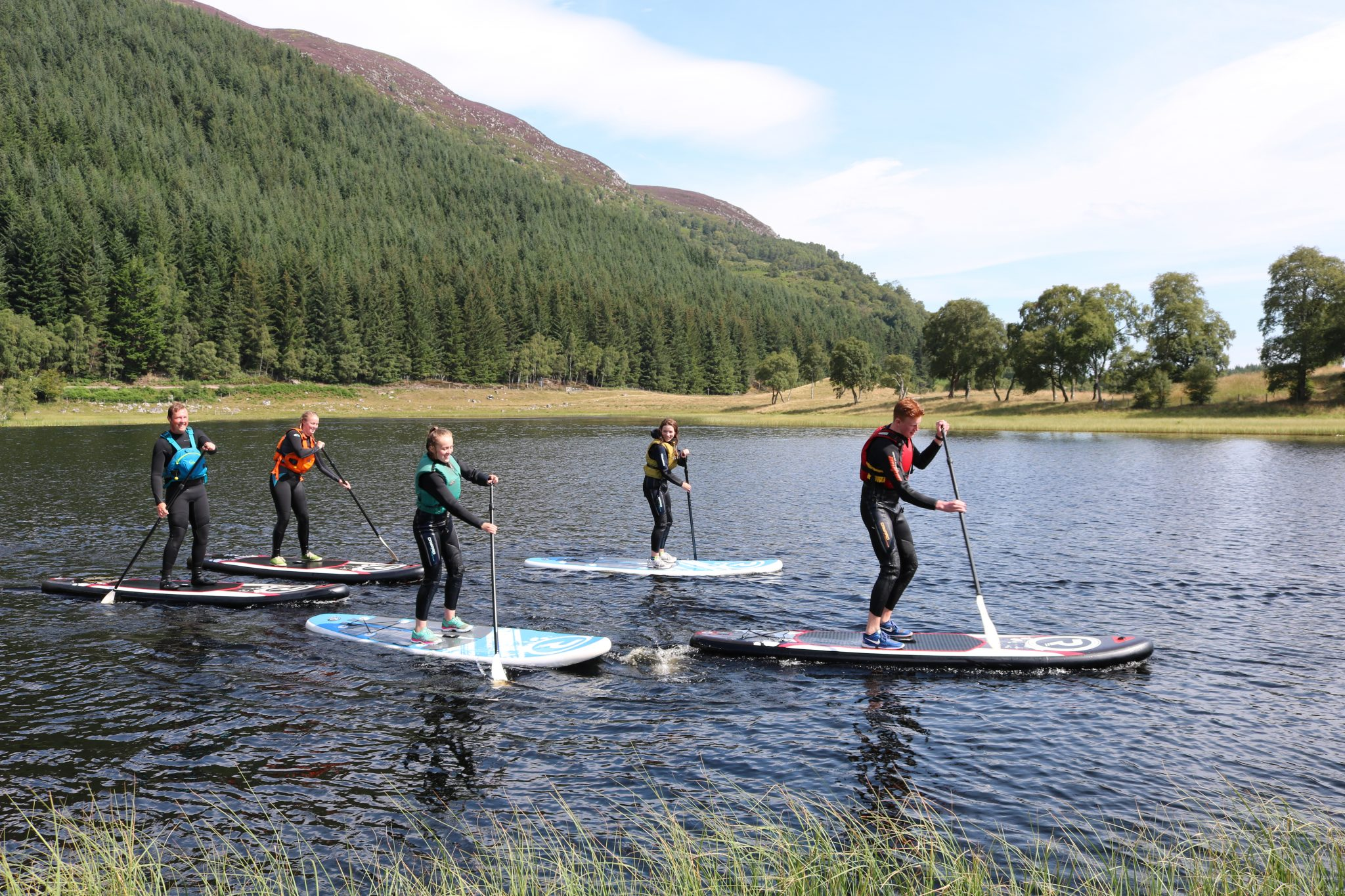 Stand Up Paddleboards >> Great Glen Stand Up Paddleboarding