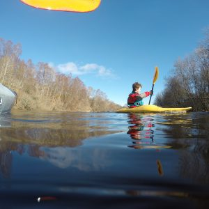 kayaking in the Great Glen