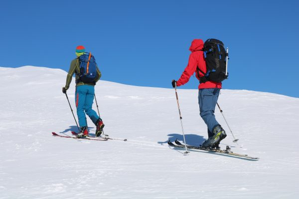 ski touring in fort william