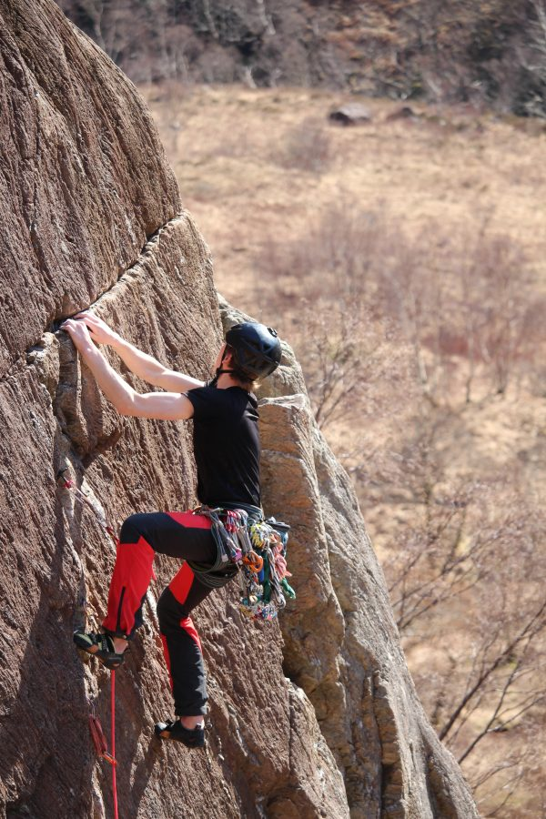 Armed forces climbing activities in aviemore