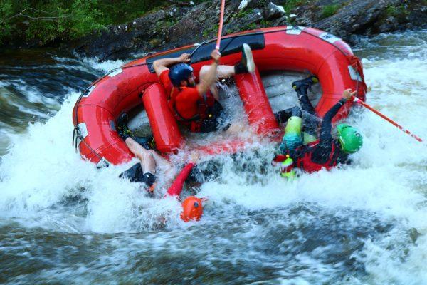 mini rafting in the great glen