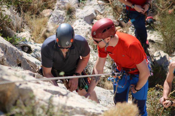Rock Climbing Instructor Training