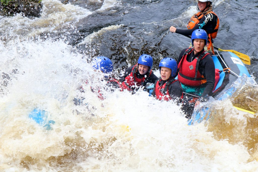 White Water Rafting in the Cairngorms & Scotland
