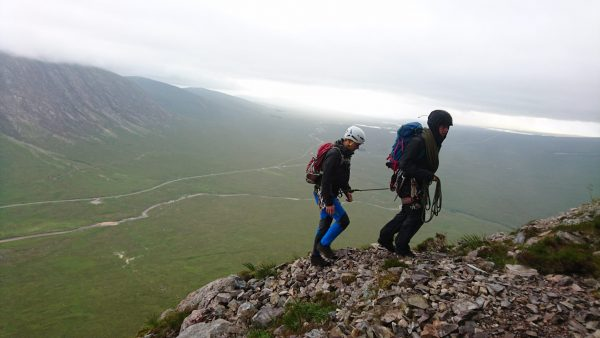 fort william, ben nevis and glencoe mountian scrambling