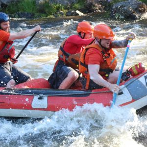 outdoor activities in the great glen, white Water Rafting on the Garry