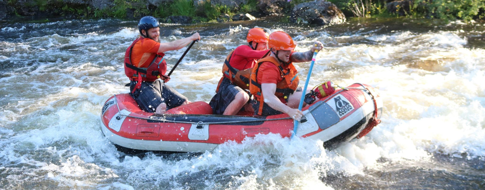 White Water Rafting on the Garry