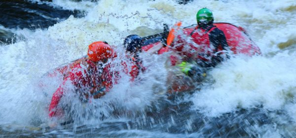 White Water Rafting in the Cairngorms