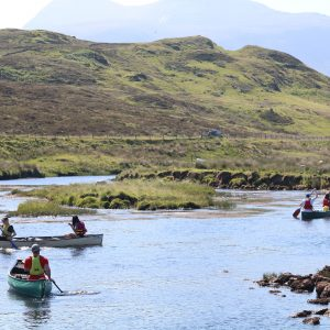 DofE Gold & silver canoe qualifier Expeditions