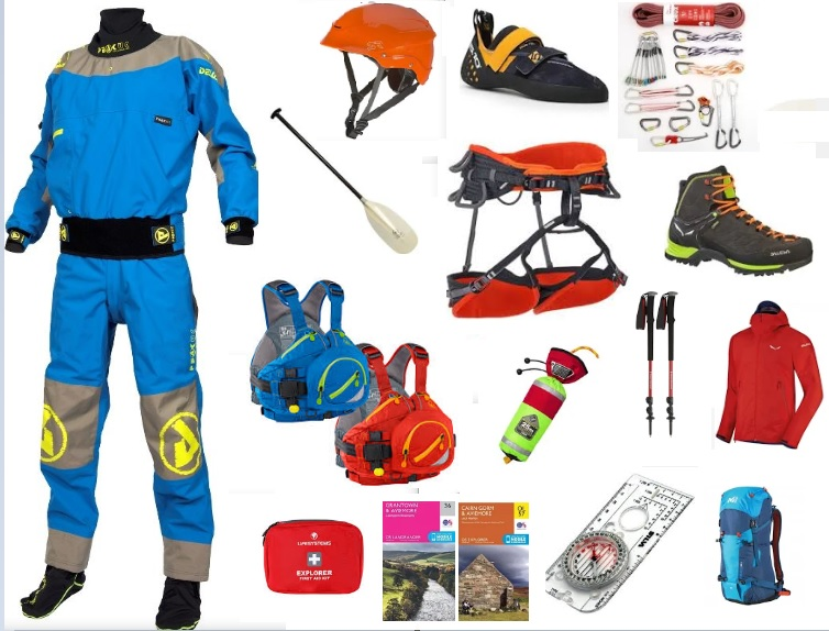 outdoor instructor training kit
