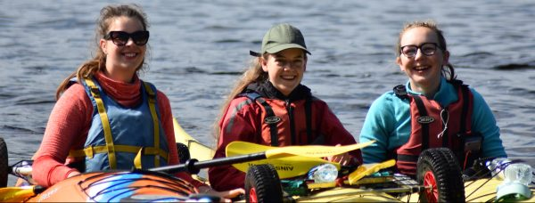 DofE silver expeditions sea kayaking training, practice & qualifier
