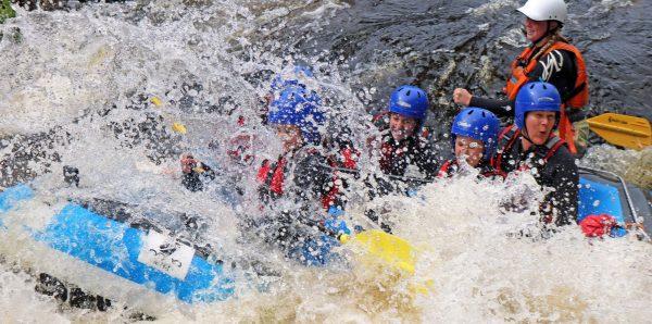 Activities & white water rafting days