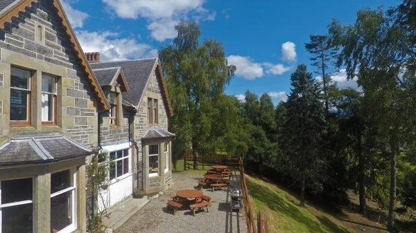 Craigower lodge hostel accommodation