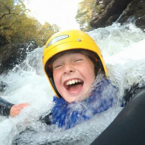 gorge scrambling in aviemore & scotland