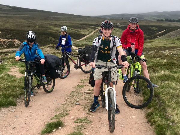 silver open dofe mountain biking traning, practice and qualifier