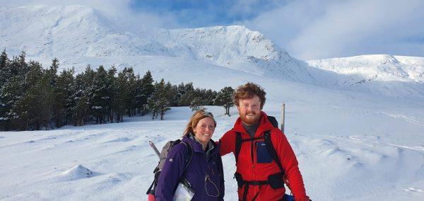 Winter skills happy navigators
