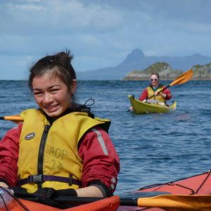 Gold Dofe Sea kayaking training, practice and qualifier qualifier