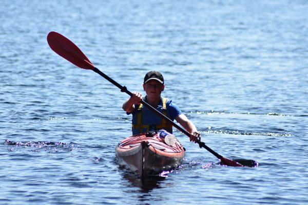 Gold Dofe Sea kayaking