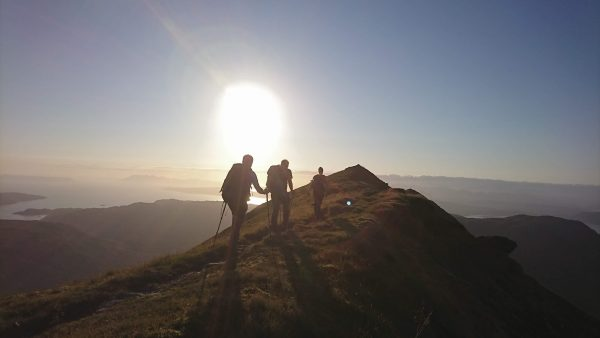 Gold dofe walking training, practice and qualifier expeditions