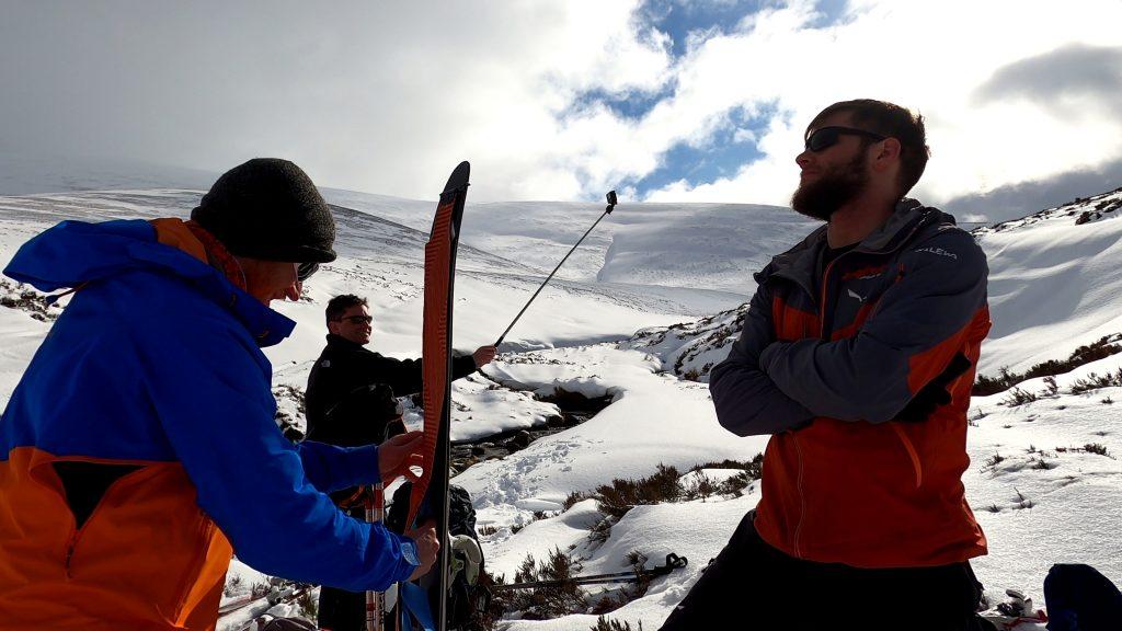 ski touring in glen feshie
