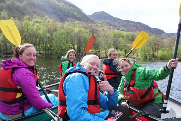 DofE Gold canoeing expeditions, training, practice, qualifier