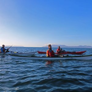 Sea kayak Leader Training & Coastal & Tidal Navigation Planning