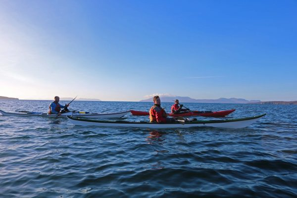 Sea kayak Leader Training & Coastal & Tidal Navigation Planning