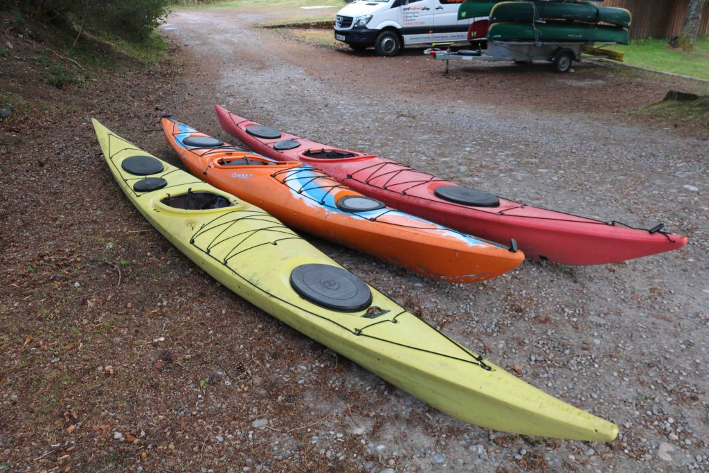 Second hand sea kayaks in aviemore & the cairngorms
