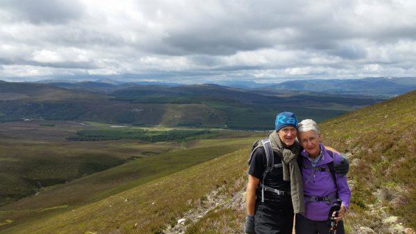 Heading up Ben Nevis - Gudied ascent