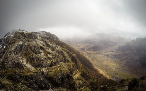 Guided traverse of the Aonach Eagach