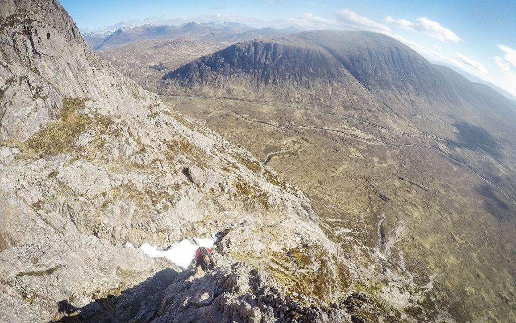 Curved Ridge Scramble