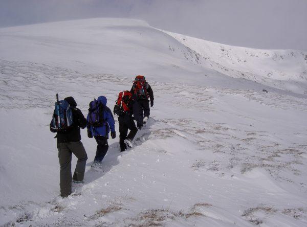Ben Macdui Winter walk