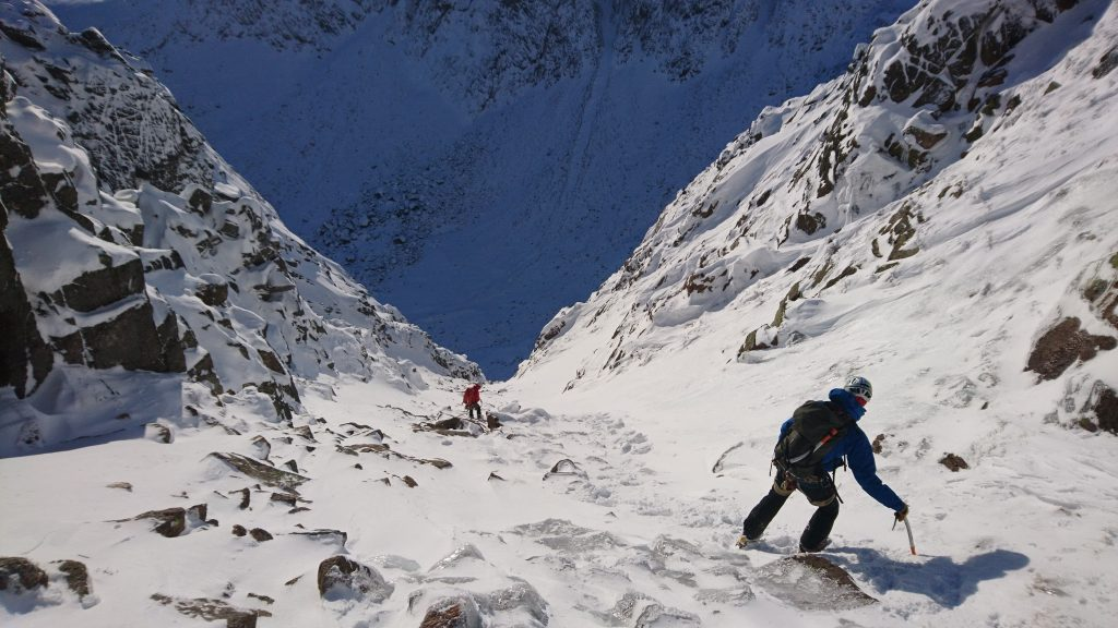 top tips for walking in winter ice axes