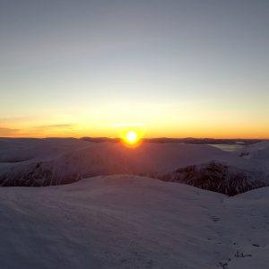 Cairngorm Sunrise summit