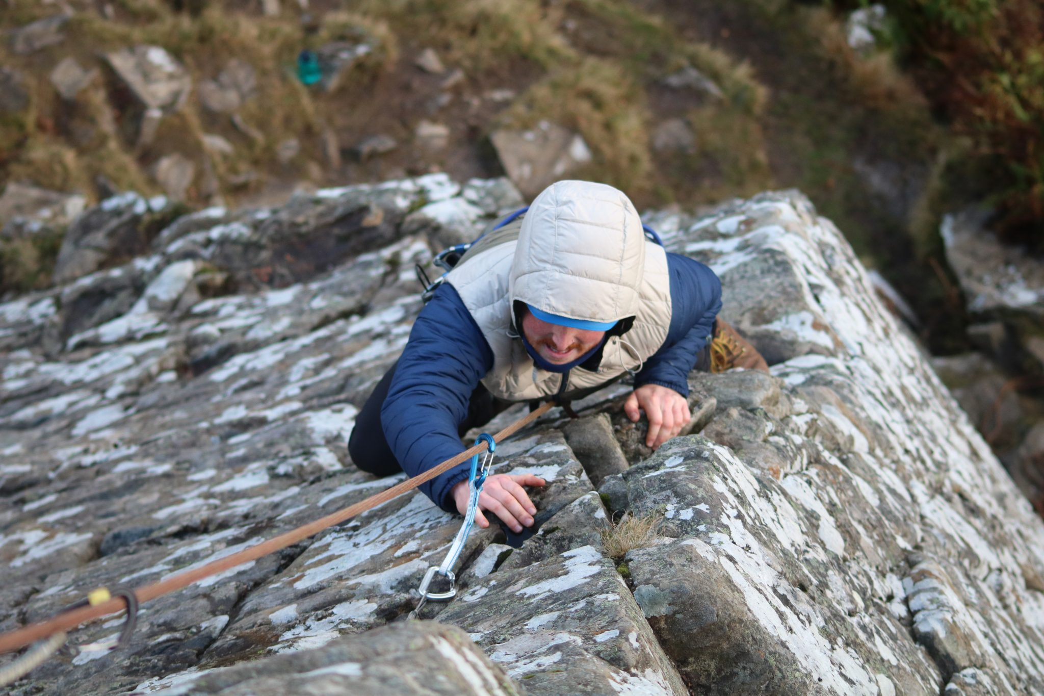 Outdoor Instructor training Course Climb Kingussie