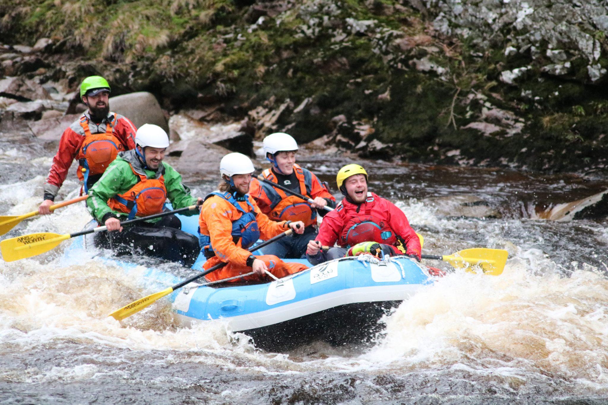 Outdoor Instructors Findhorn Rafting
