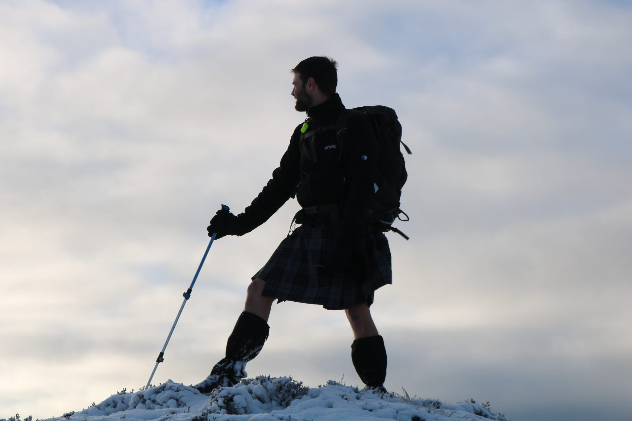 Outdoor Instructor Training Course Kilted Walk