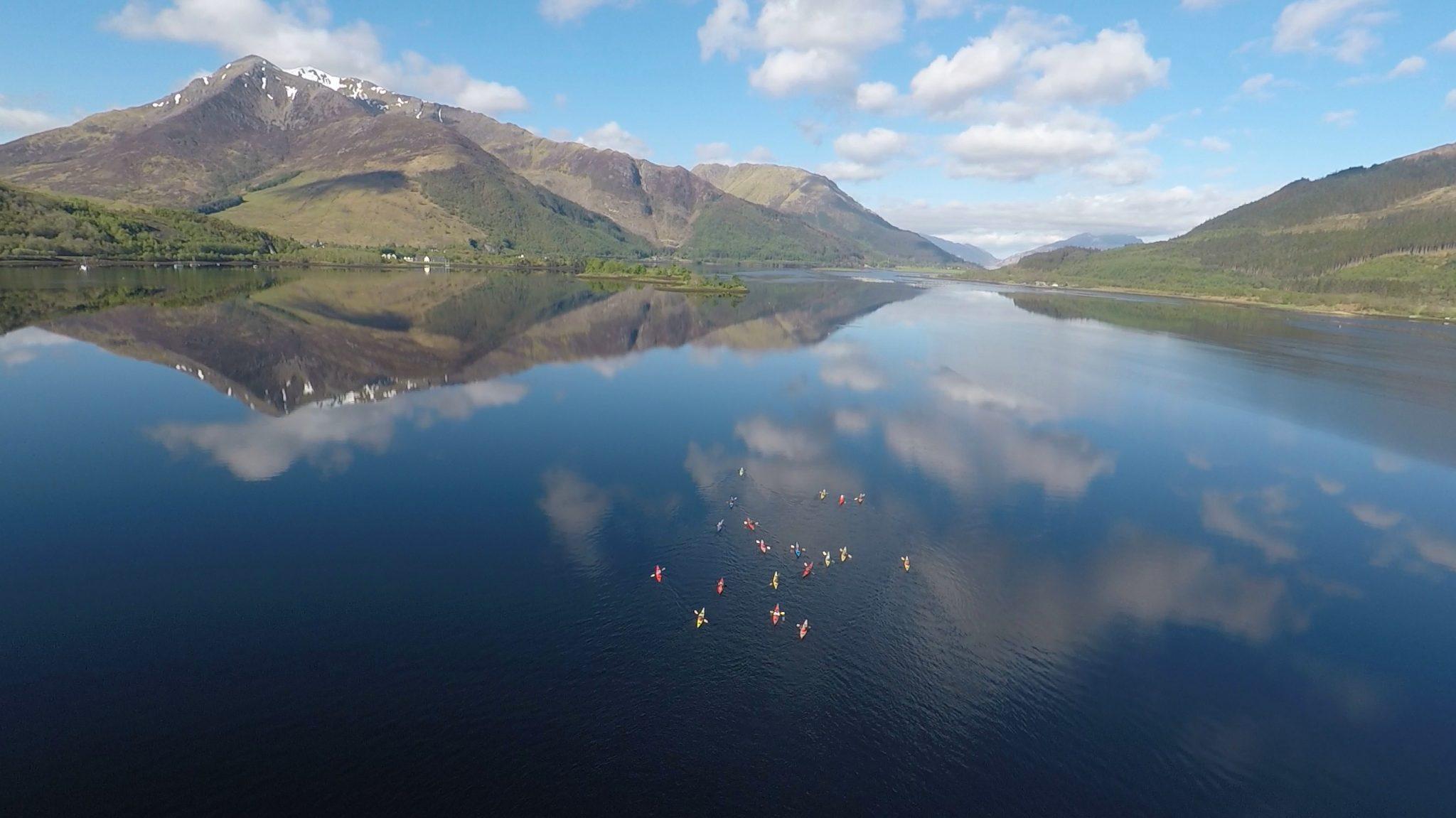 West Highland way sea kayaking
