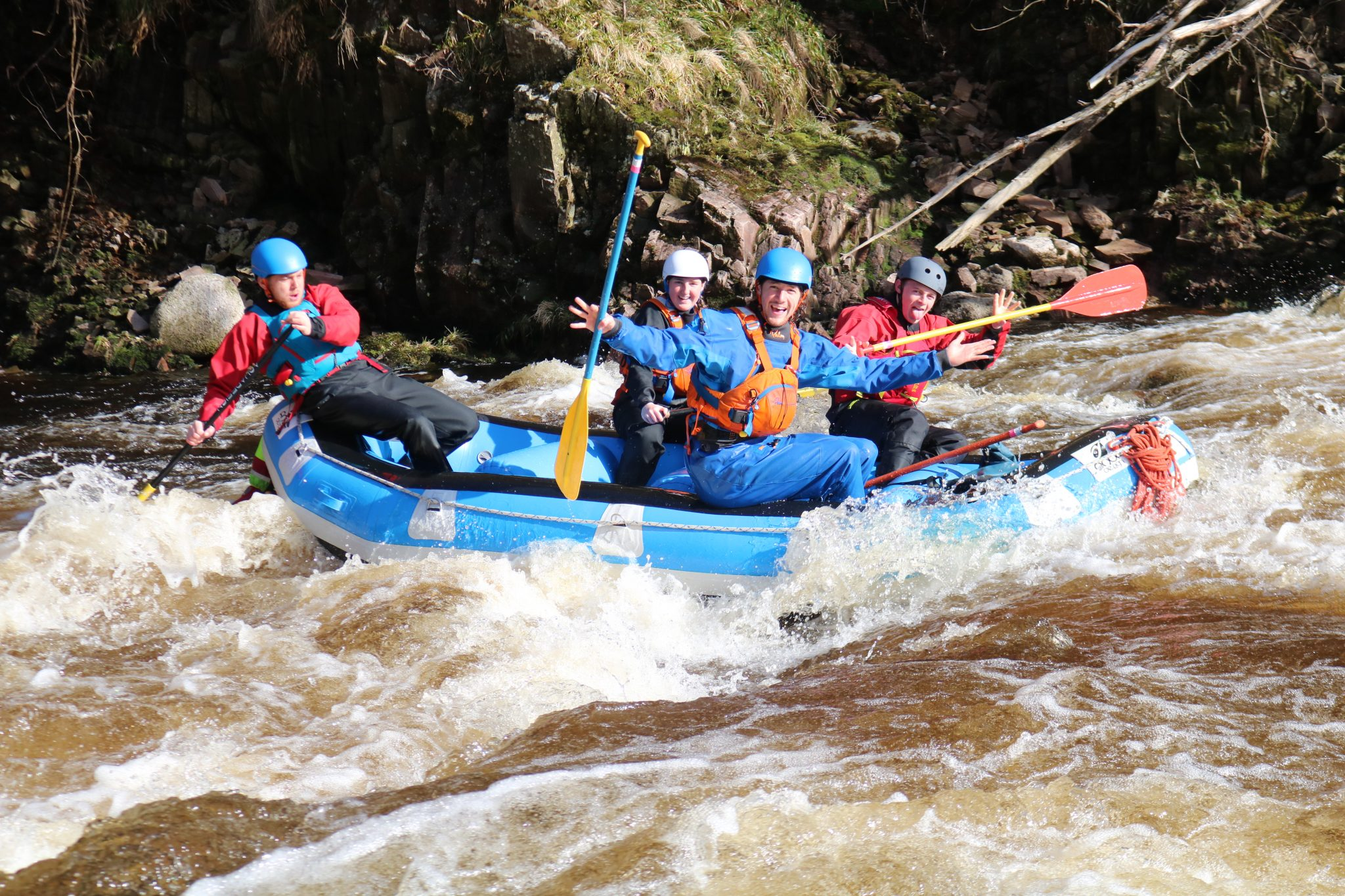 Outdoor Instructor Training Course rafting